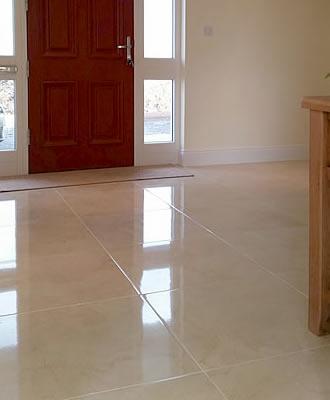 Floor Tiles in Hall